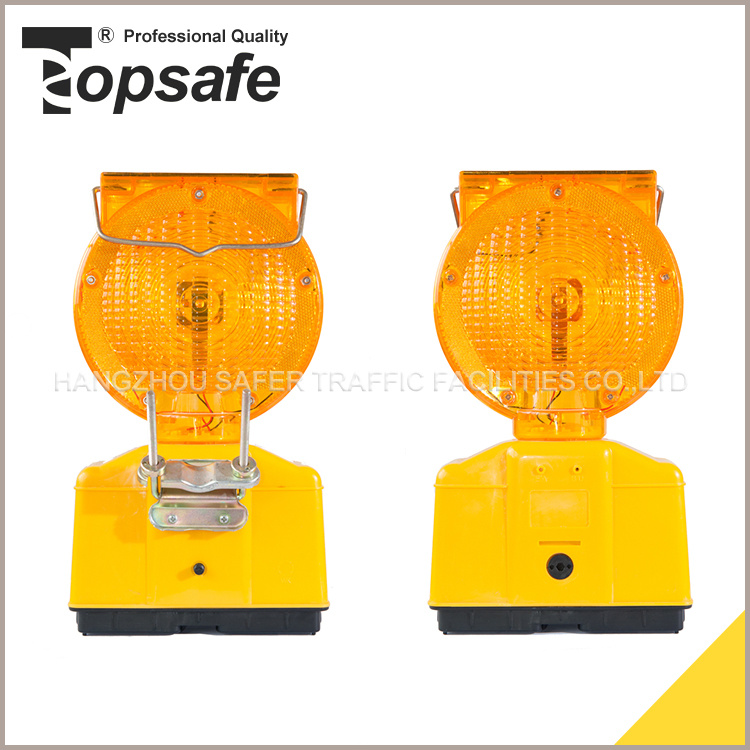 S-1317super LED with Solar Power Traffic Road Construction Warning Light