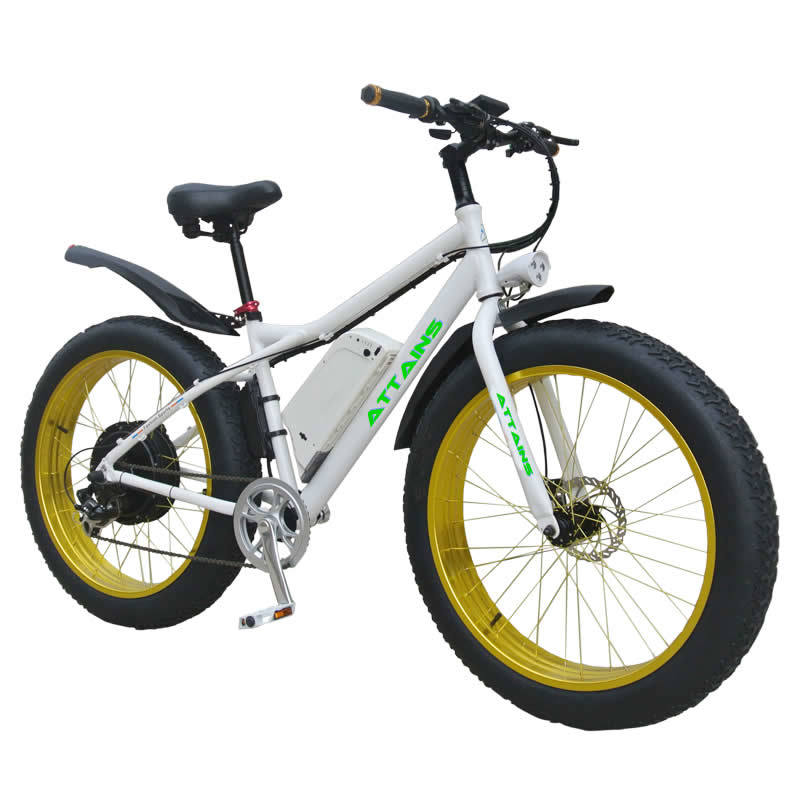 Bafang Motor 500W Samsung Battery 48V 10.2ah Fat Tire Electric Bicycle