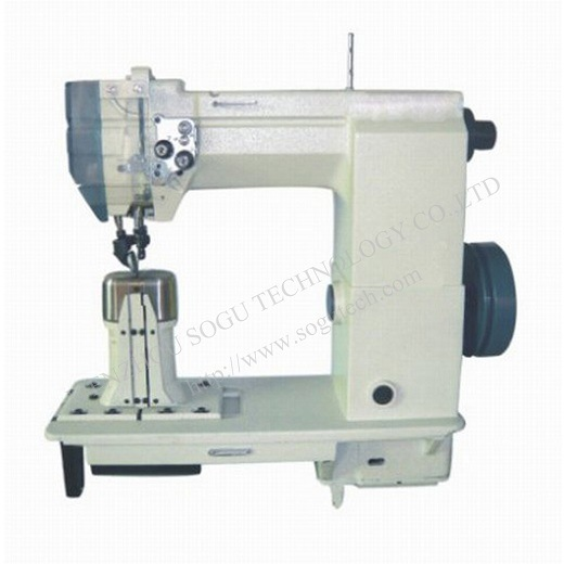 China Driven Roller Presser Shoe Leather Industrial Sewing Machine Adorable Industrial Sewing Machine Safety