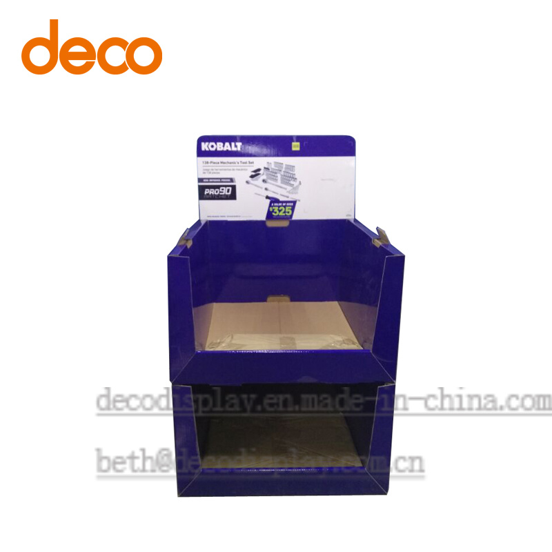 Floor Display Stand Pop Display Cardboard Display Box pictures & photos