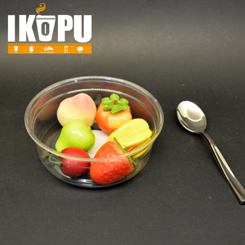 Salad Bowl Vegetable Fruit Salad Pet Plastic Cup with Lid 8oz 12oz 16oz 24oz 32oz pictures & photos
