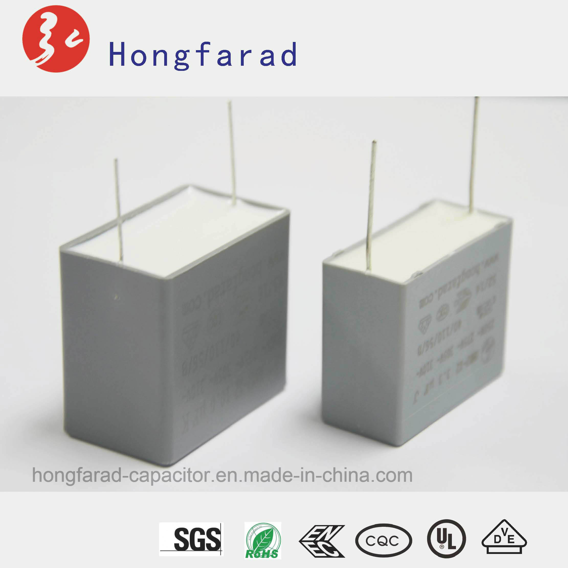 MKP X2 Metallized Polypropylene Film Capacitor with Safety Approvals pictures & photos