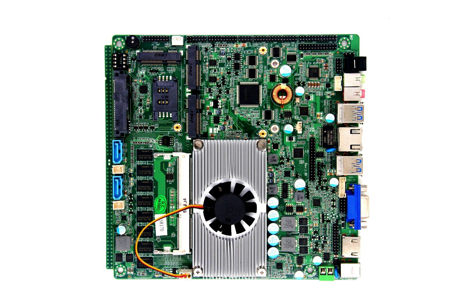 Haswell All in One 4th Gen I5 Processor 4200y/4200u Embedded Motherboard with PS2 /5 RS232