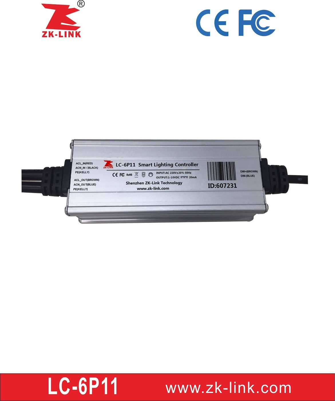 [Hot Item] Iot Smart Lighting Controller for Street Lighting Automation  (LC-6P11)