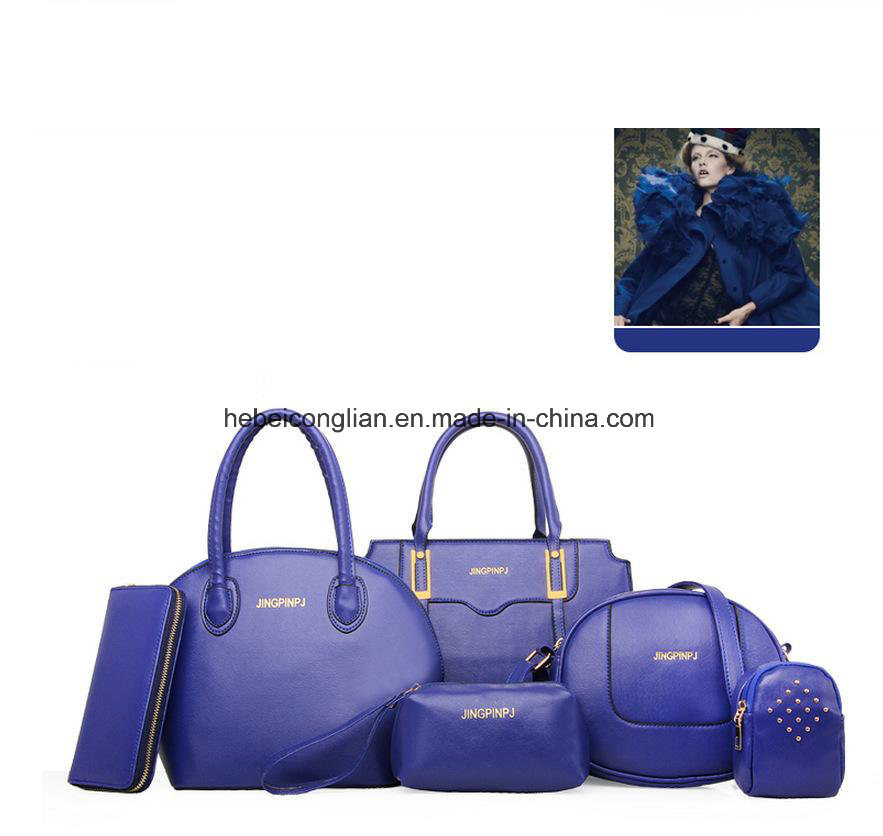 edf5c3be53 Wholesale Latest-Design Hot-Sale Luxury Fashion Ladies-Bags 6PCS Women′s  Handbags