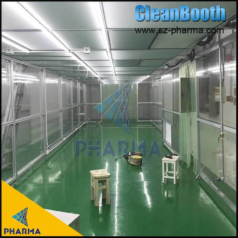 China Namangan Uzbekistan Tablet And Capsule Gmp Cleanroom China Air Shower Clean Room Gmp Clean Room