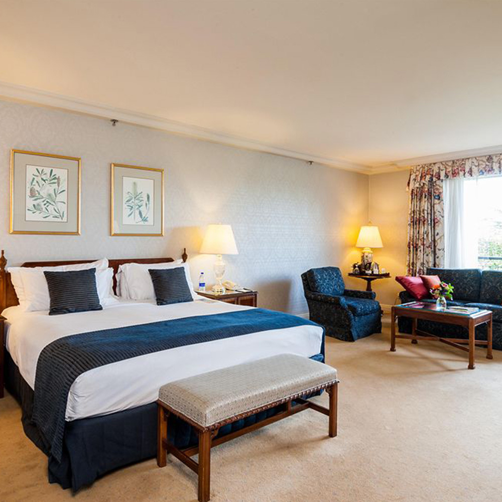 [Hot Item] Contemporary Bedroom Set Furniture Modern Hotel Suite