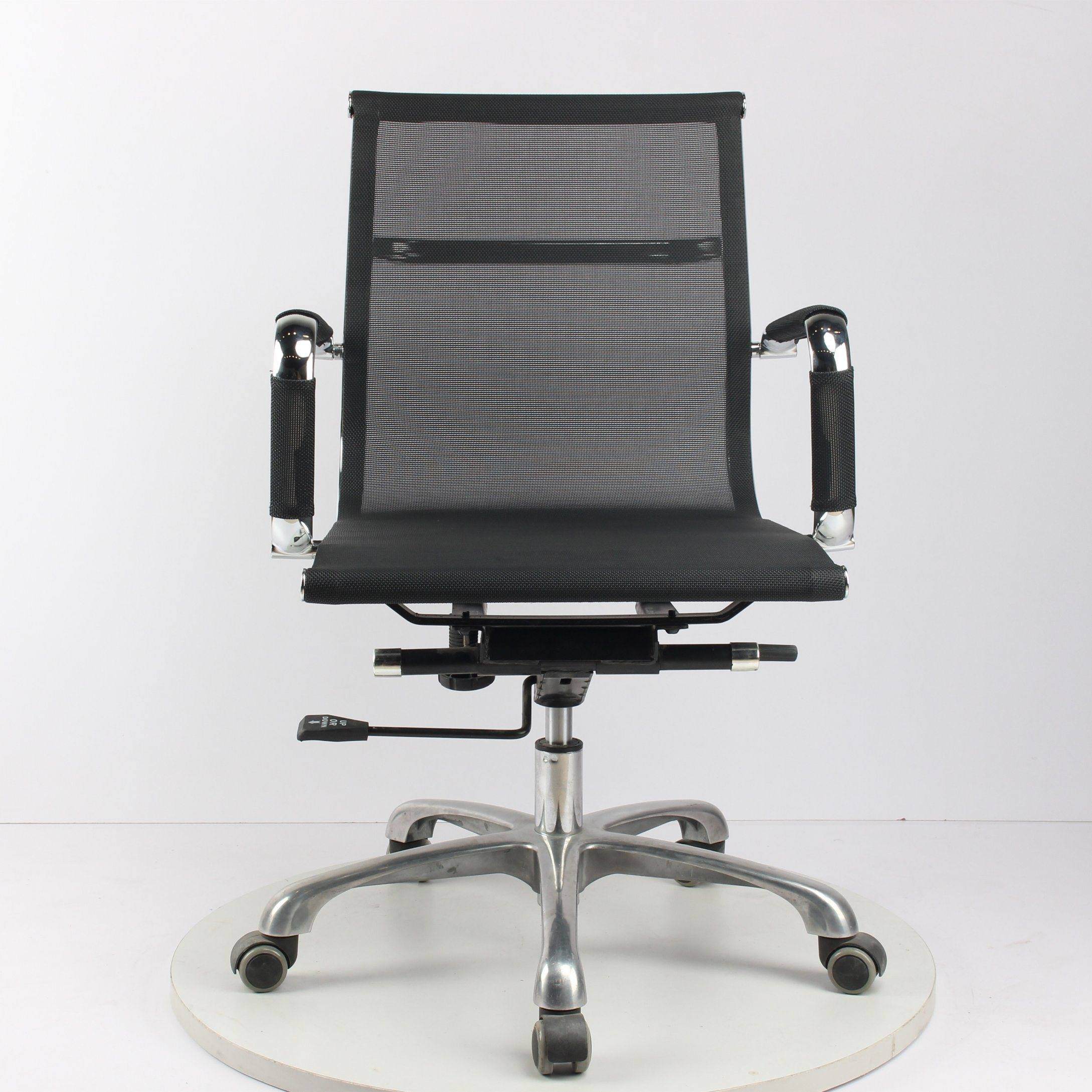 Hot Item Modern Low Back Swivel Hotel Mesh Eames Office Chair