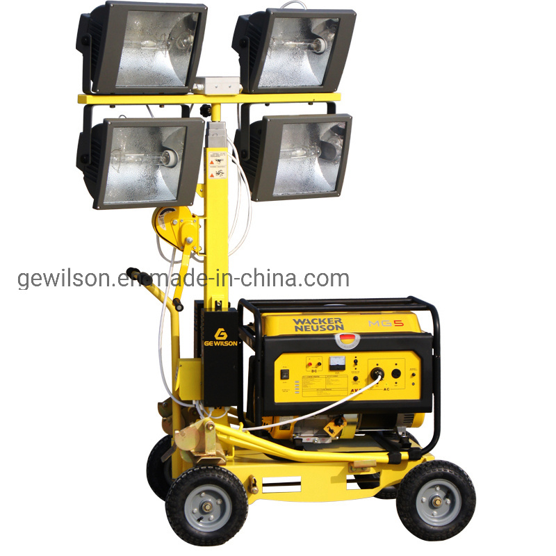 China Diaster Relief Outdoor Emergency, Portable Outdoor Lighting Tower