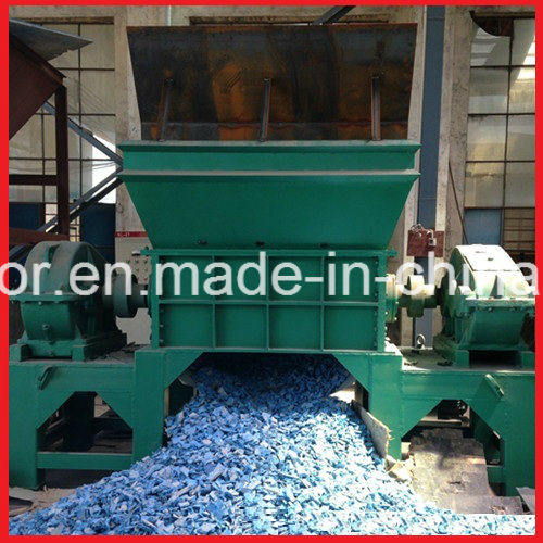 Double Shaft Wood/Tire/Plastic/Paper/Foam/Scrap Metal Shredder pictures & photos