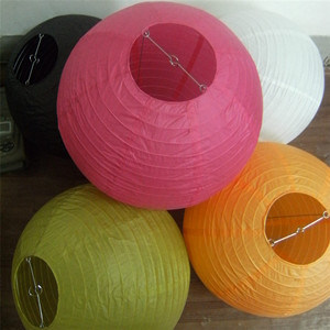 China Small Whole Order Of Paper Lanterns Diffe Colors And Sizes Option Chinese Lantern Round