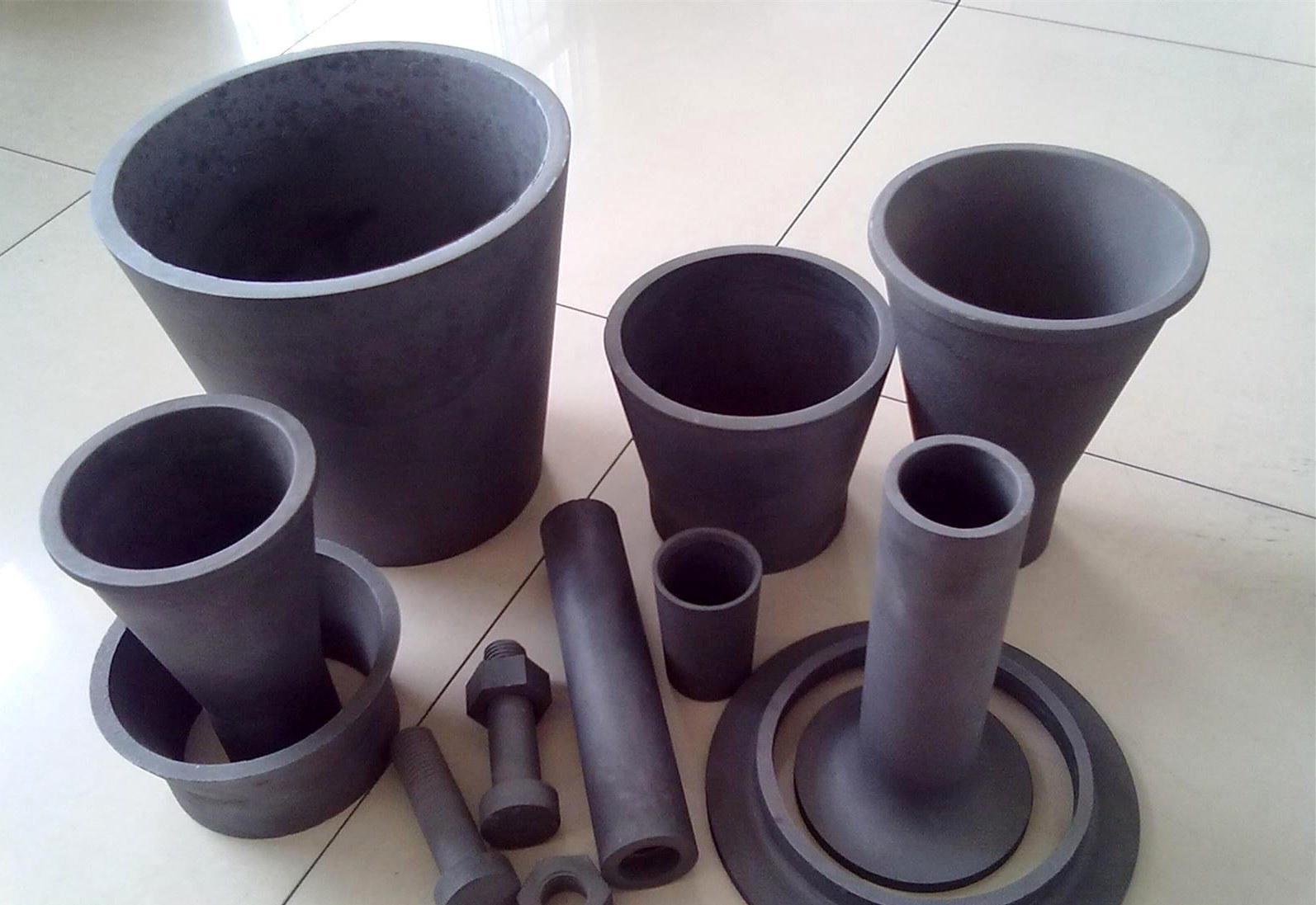 The Siliconized Silicon Carbide Pipe
