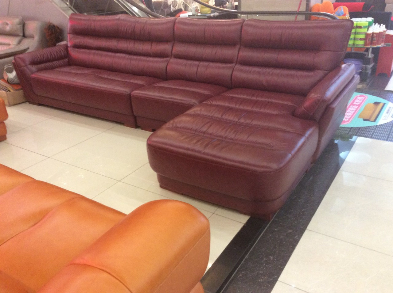 Enjoyable China Red Wine Color Leather Sofa Living Room Furniture A Uwap Interior Chair Design Uwaporg