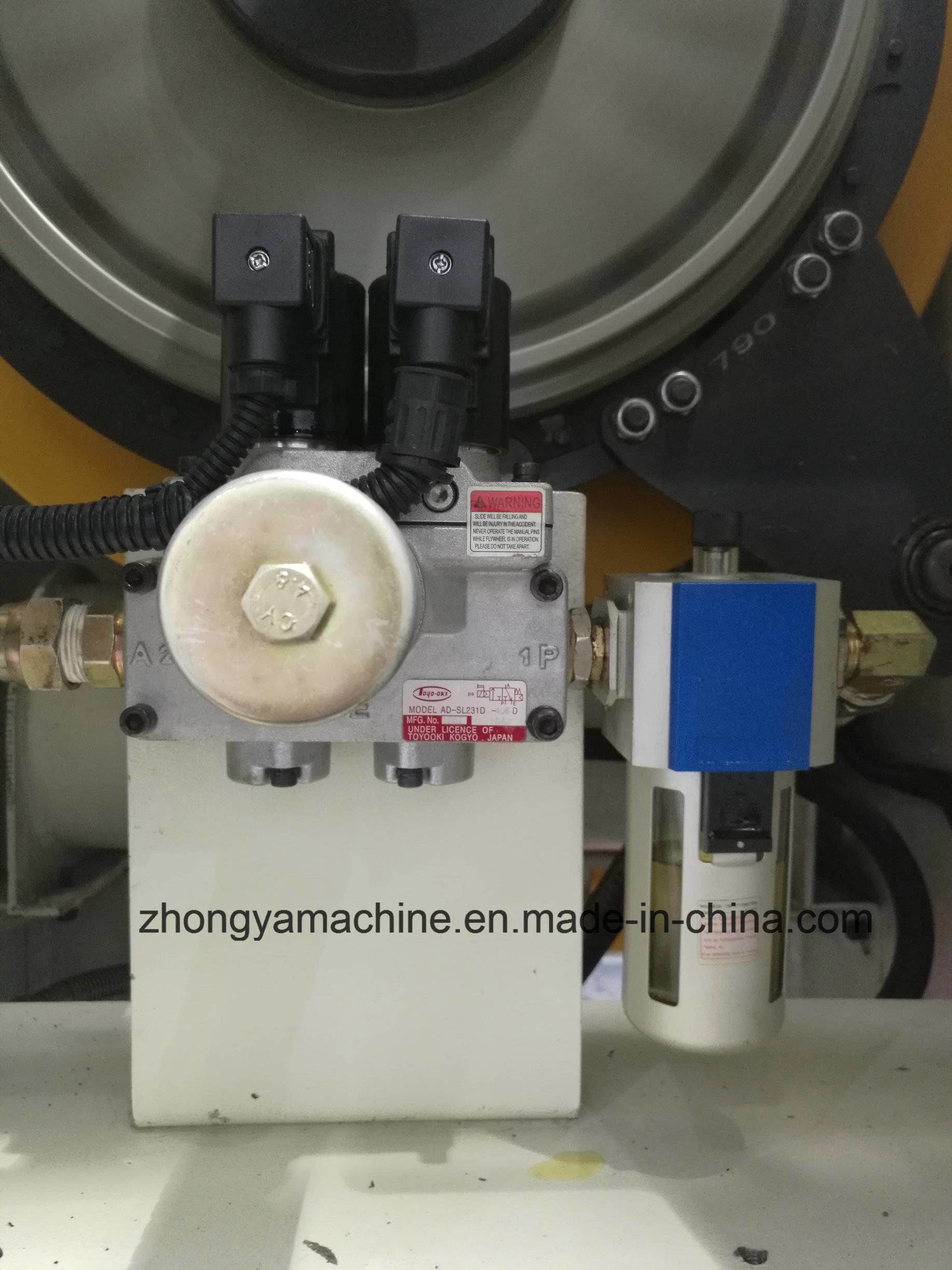 China High-Precision Pneumatic Power Press Machine Zya-80ton