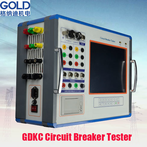 Gdgk-307 IEC62271 Automatic High Voltage Circuit Breaker Test Equipment