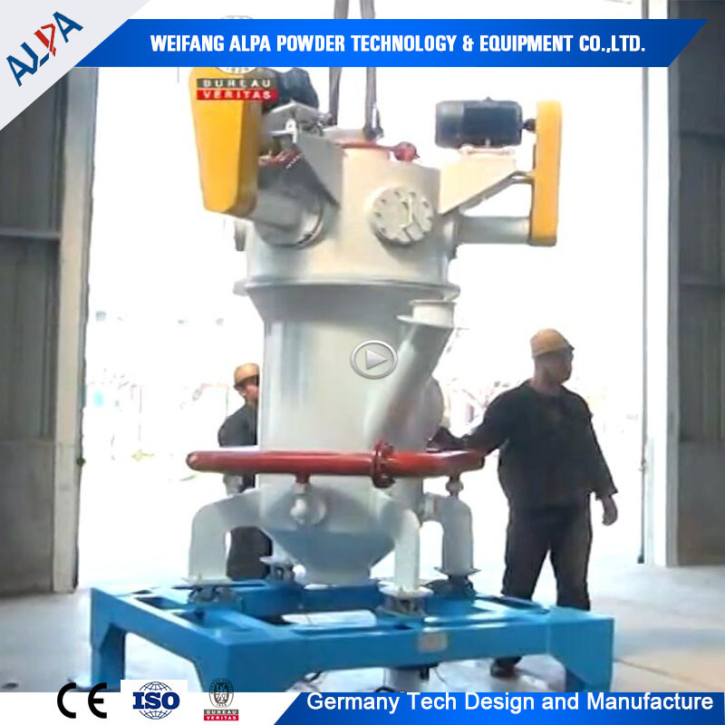 Ultrfine Barite Ground Machine Puverizer Jet Mill