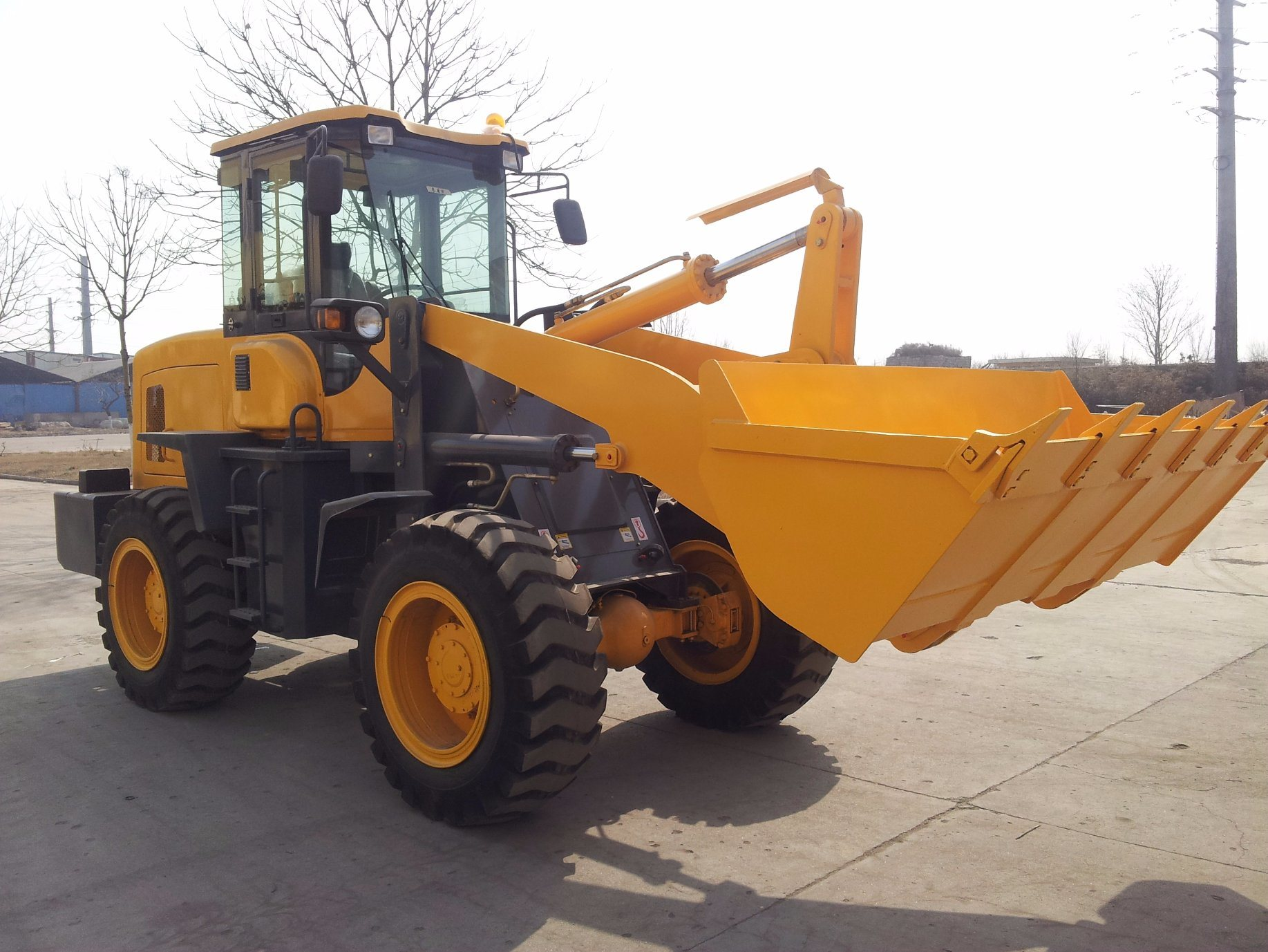 Pilot Control and AC Medium Wheel Loader 2.8 Tons pictures & photos