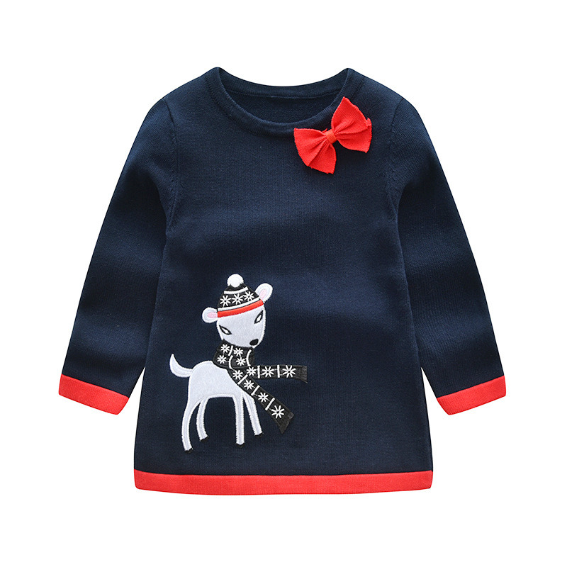 340e5601abc New Fashion Autumn Winter Hollow Pullover Baby Sweater Kids Girls Knitted  Sweater for Girls Sweaters Dress