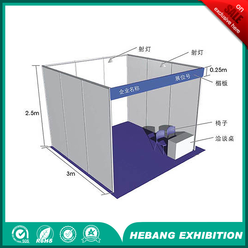 10 Years Factory Standard Trade Show Booth/Exhibition Stand/Exhibition Standard Booth