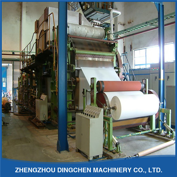 [Hot Item] Tissue Paper Manufacturing Machine by Recycling