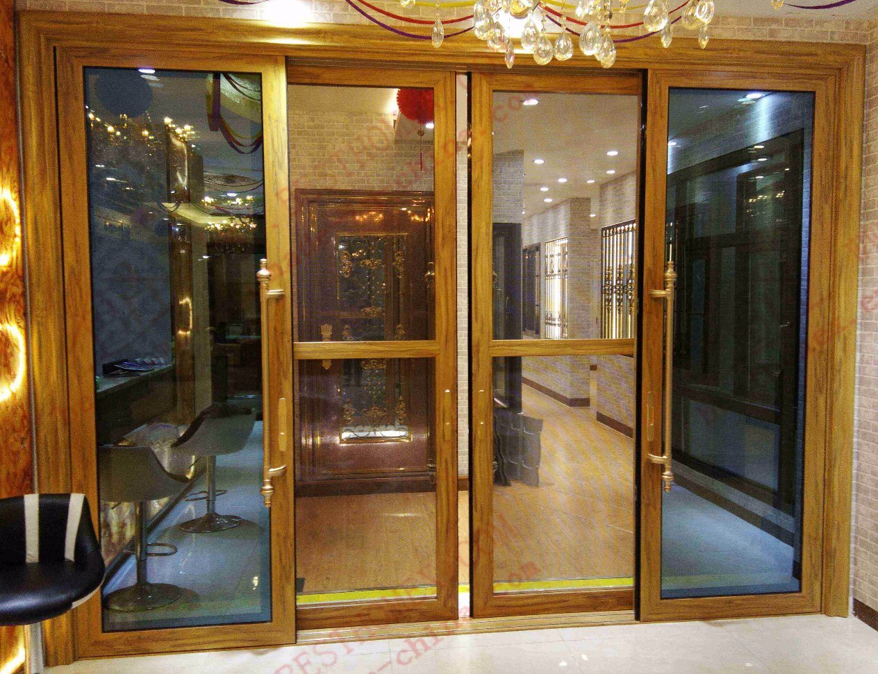 China Double Glazed Heavy Aluminium Sliding Door Bha Ds11 Photos