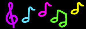 China Music Notes Neon Sign China Neon Sign Led Sign
