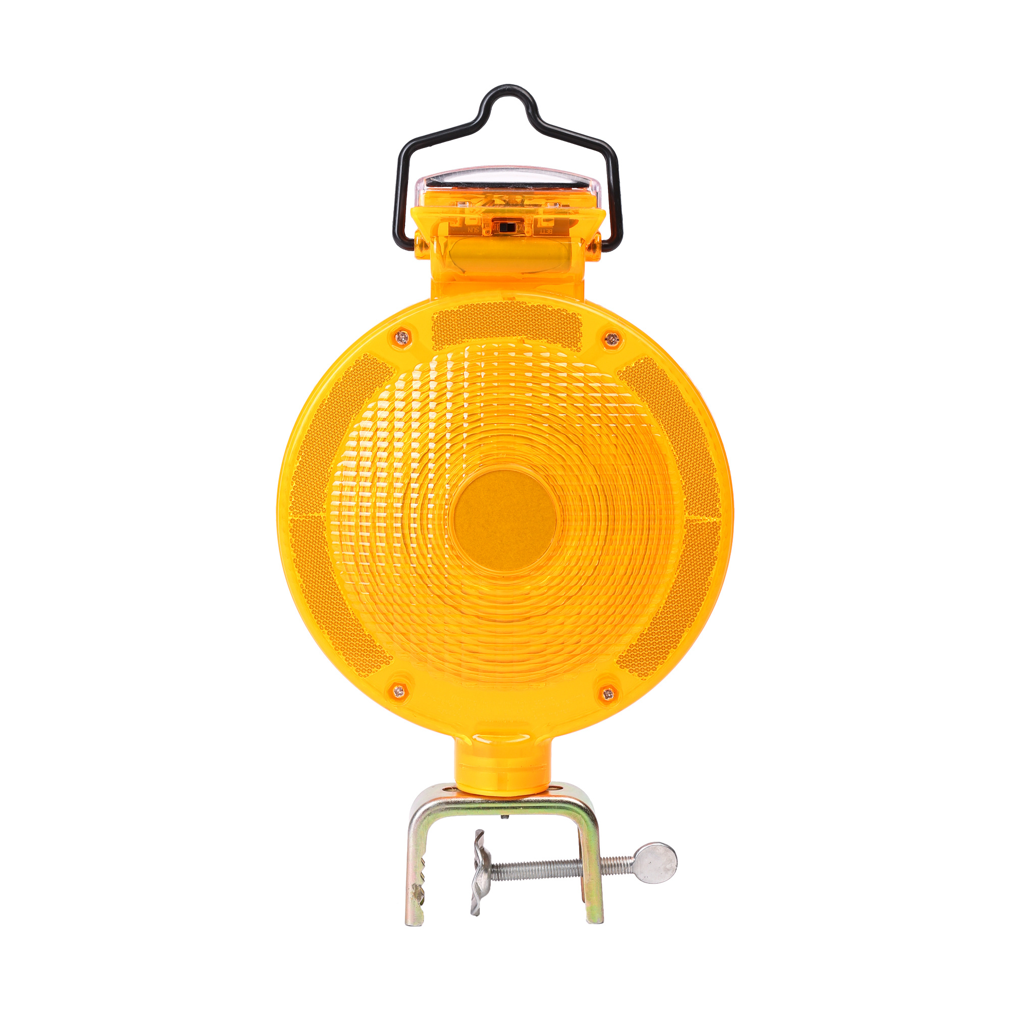 Amber Color Solar Warning Light S 1359a