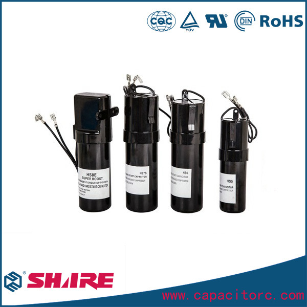 Rco Series Hard Start Capacitor for Refrigeration Compressor