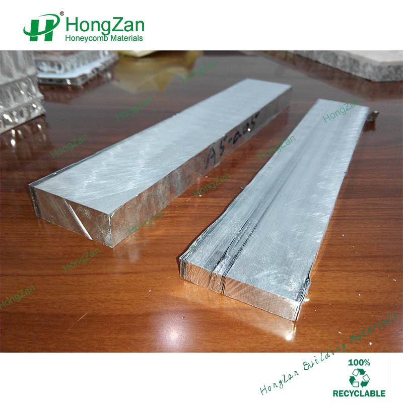 Block Unexpanded Honeycomb Core for Composite Panel