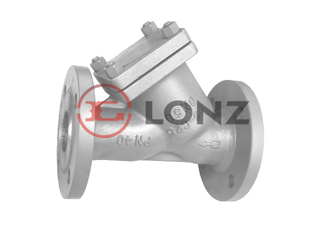 DIN Cast Steel Y Strainer