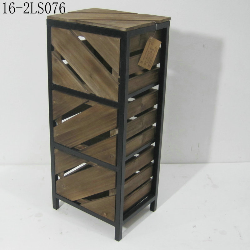 Unique Shabby Chic Wooden Drawers Cabinets