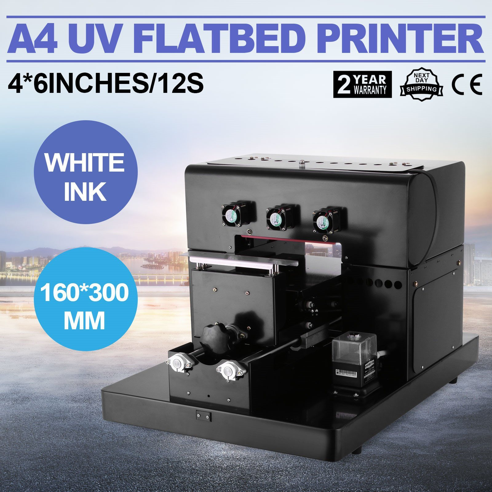 A4 UV Flatbed Inkjet Printer UV Printing Machine pictures & photos
