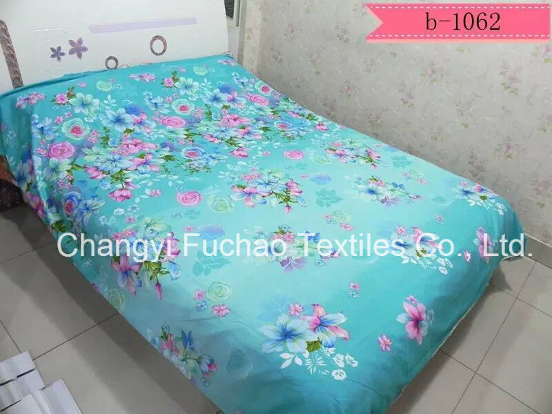 Microfiber Plain Dyed Cheap Bed Sheet Set Bedding Set Home Textile