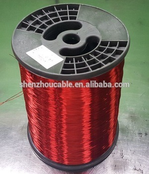 Diameter 0.10mm-5.00mm Copper Clad Aluminum Wire CCA Enameled Wire for Motor Winding
