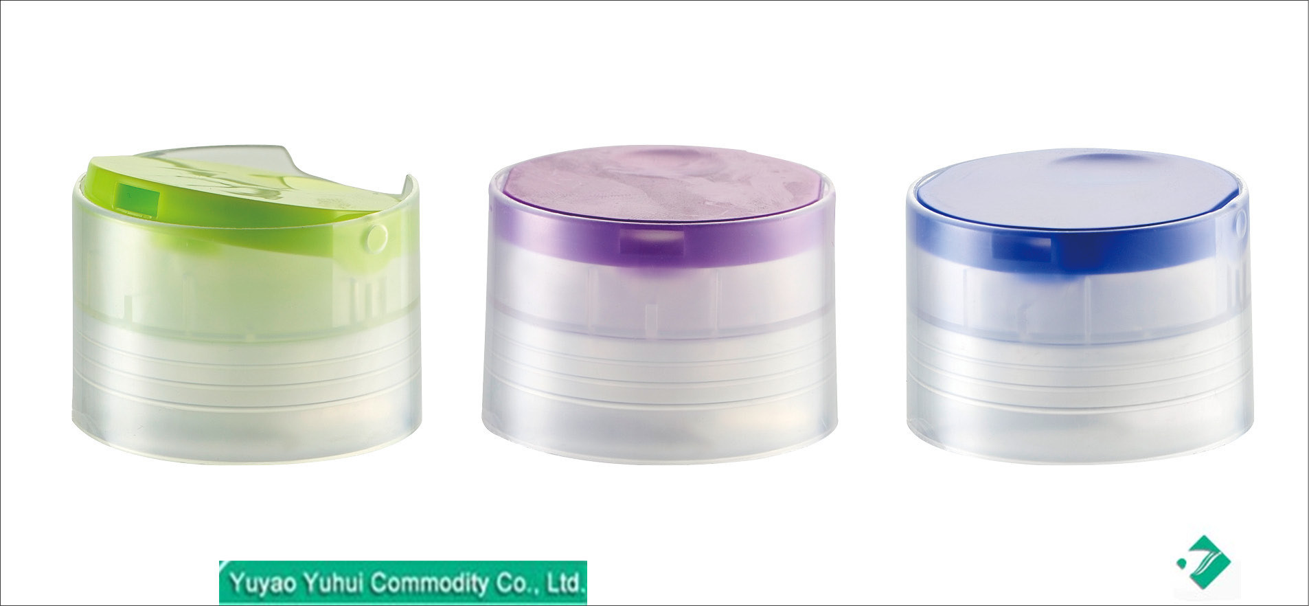[Hot Item] Cylinder Type Cap Bottle Reusable Plastic Double Wall Disc Caps