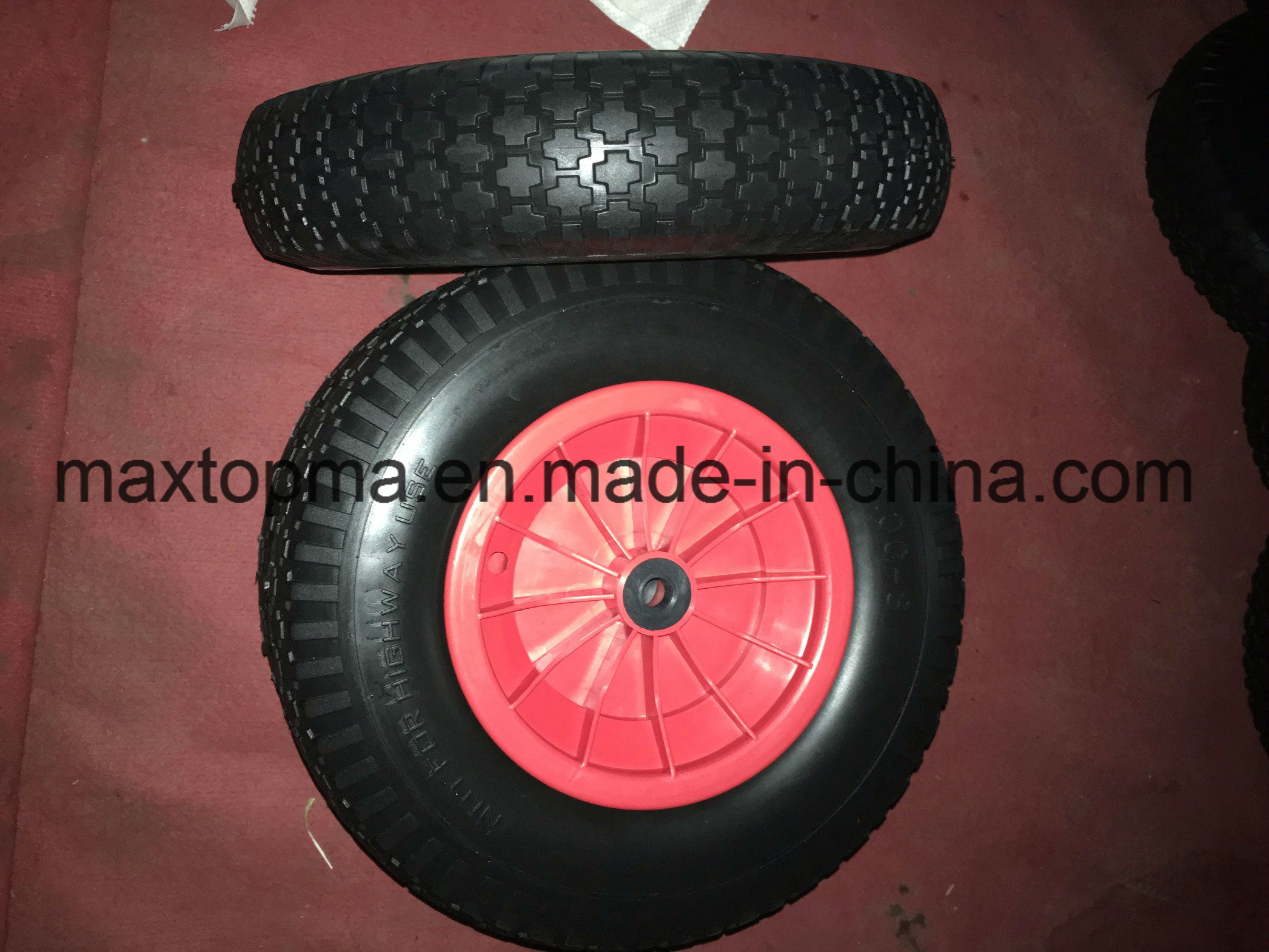 16X1.75 Baby Stoller PU Foam Wheel pictures & photos
