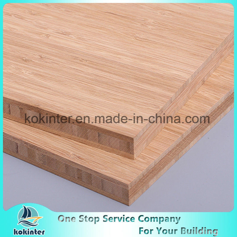 [Hot Item] 12mm Caramel Vertical 3 Layer Bamboo Board Bamboo Plywood Bamboo  Panel