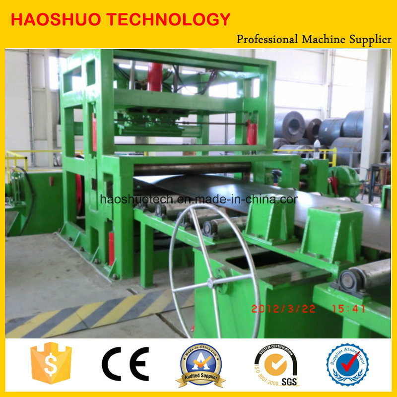 12mm Steel Coil Cutting Line with High Precision, Autostacking, Cut to Length Line pictures & photos