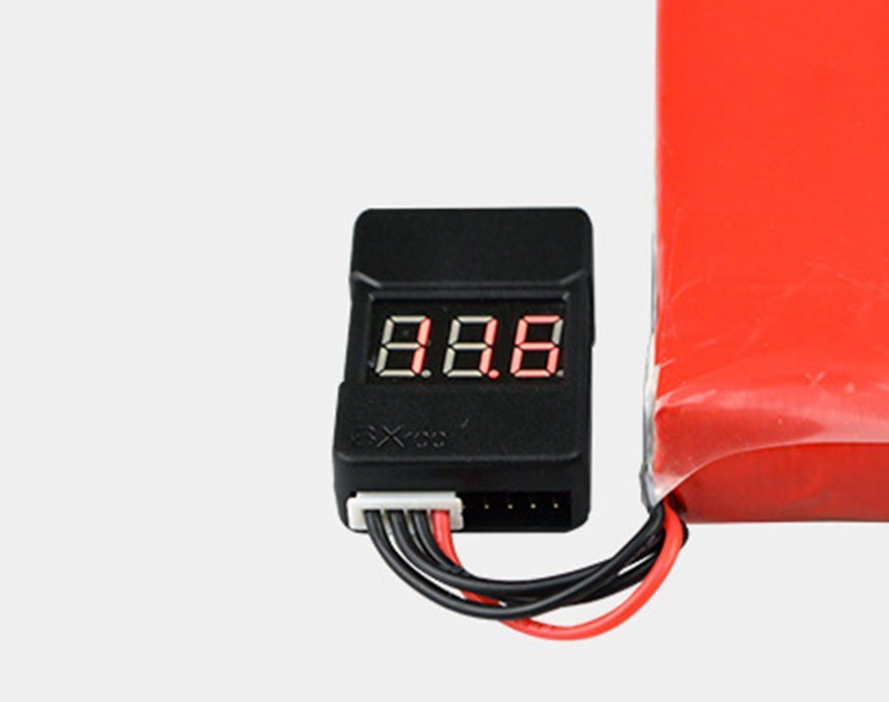 China Lipo Battery Low Voltage Tester Checker 1s 8s With Led Indicator