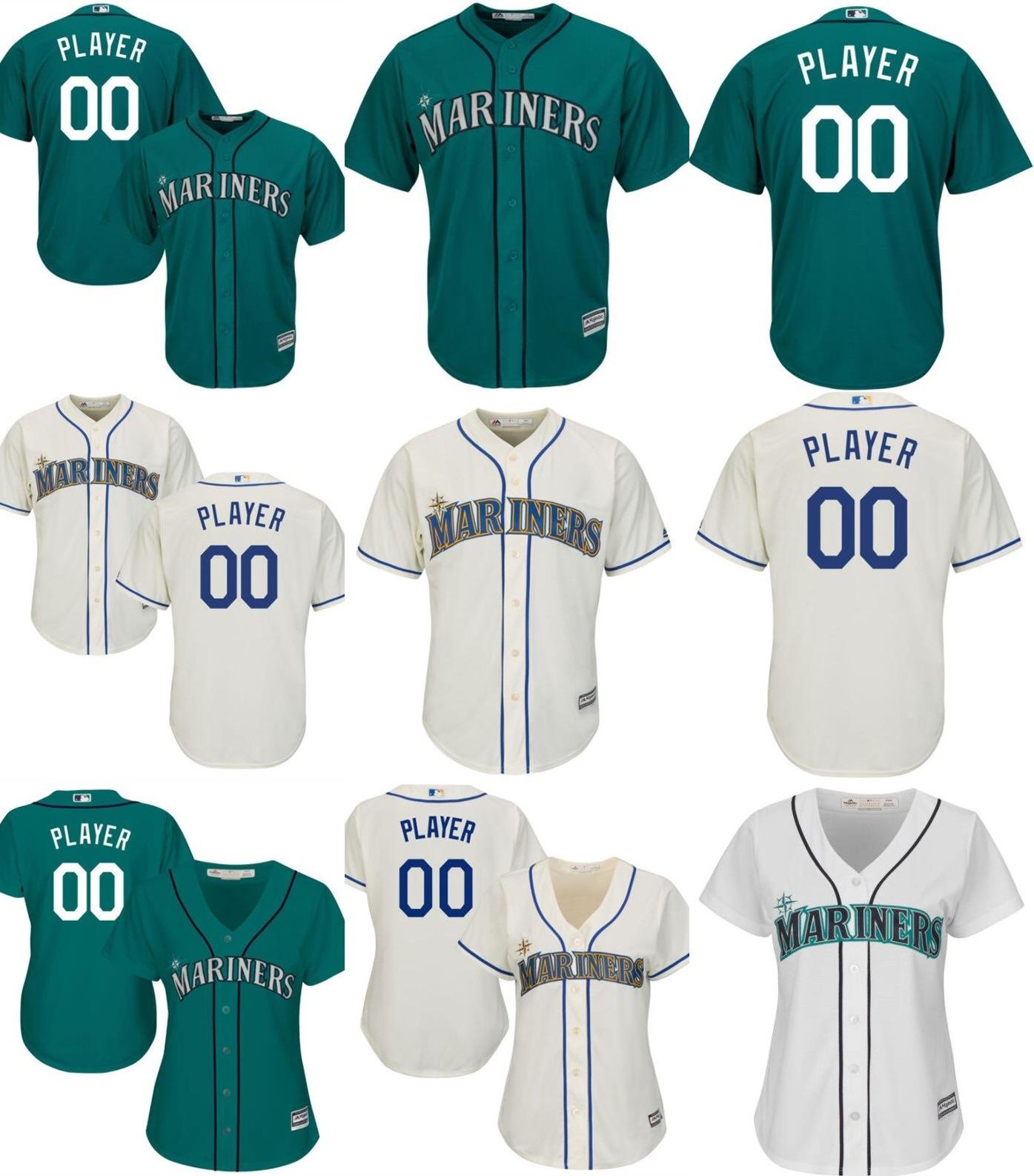 quality design 00edd 28222 [Hot Item] Customized Men Women Kids Seattle Mariners Baseball Jerseys