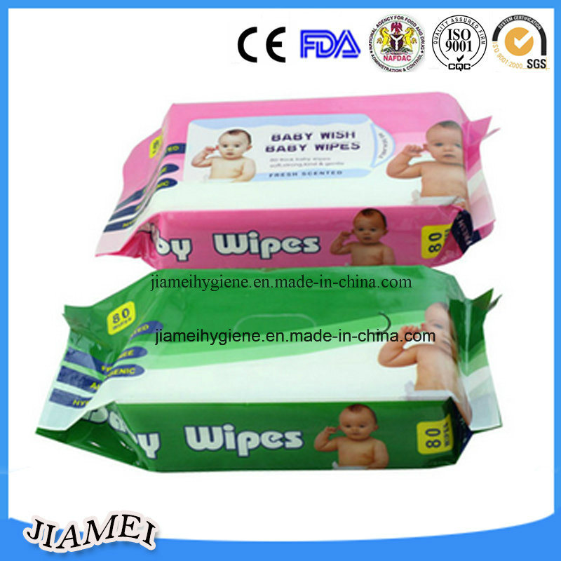 2016 Hot Sell Baby Wipes with Aloe Fragrance