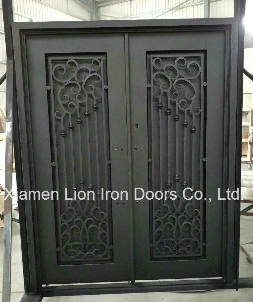 Exterior Front Wrought Iron Security Doors Screen