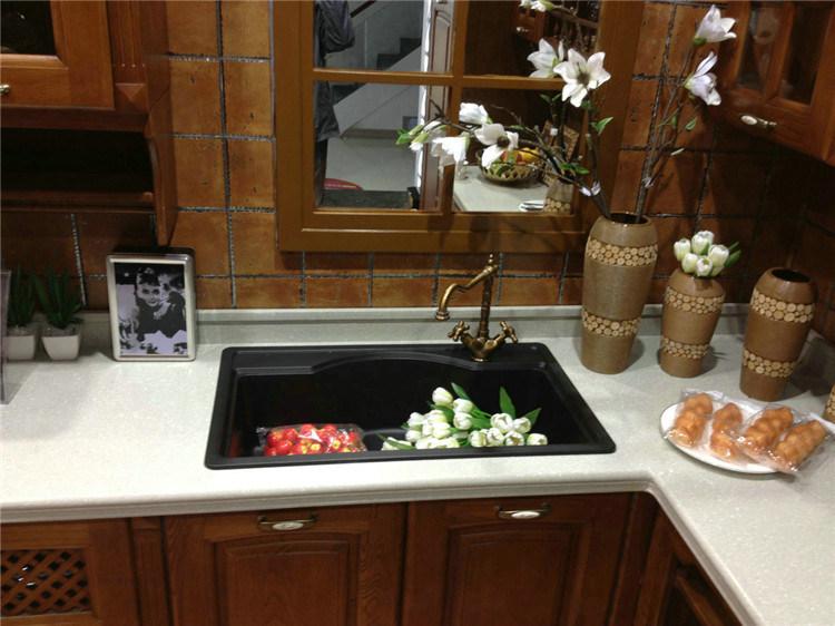 China Modern Scratch Resistant Quartz Kitchen Sink Factory Photos ...