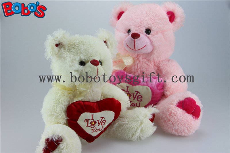 China i love you pink plush teddy bear with pink heart pillow photos i love you pink plush teddy bear with pink heart pillow altavistaventures Images
