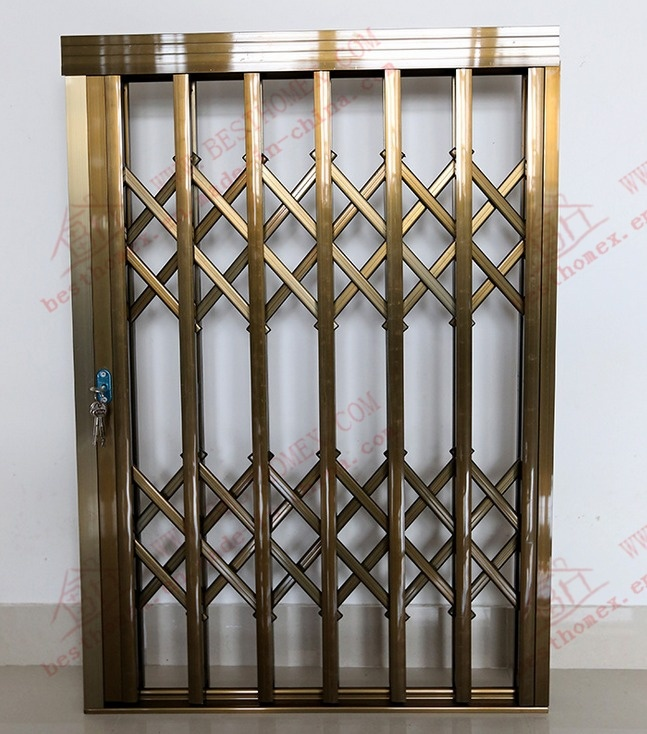 Exceptionnel China Burgular Proof Aluminium Collapsible Door (BHS DA06)   China Sliding  Grille Door, Retractable Door