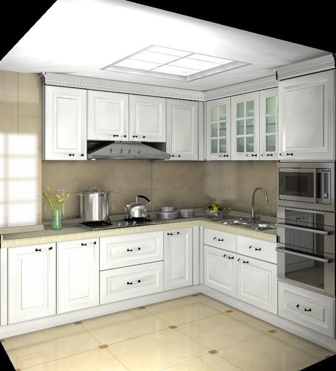 China Modern Kitchen Cabinet Wood Door Designs Complete ...