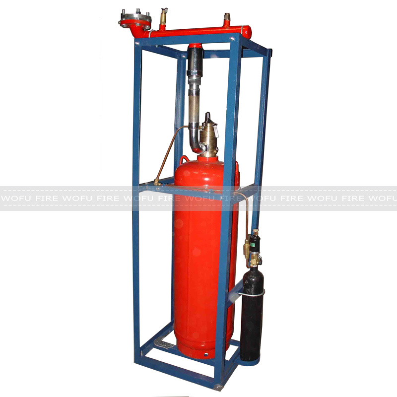 Hfc-227ea Auto Fire Extinguisher System, 100L Single FM200 Auto Fire System pictures & photos