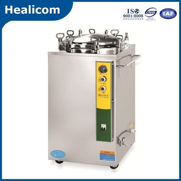 50L Vertical Pressure Steam Sterilizer Autoclave