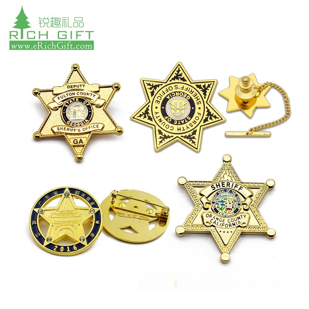 Red Army officer brass Star badge