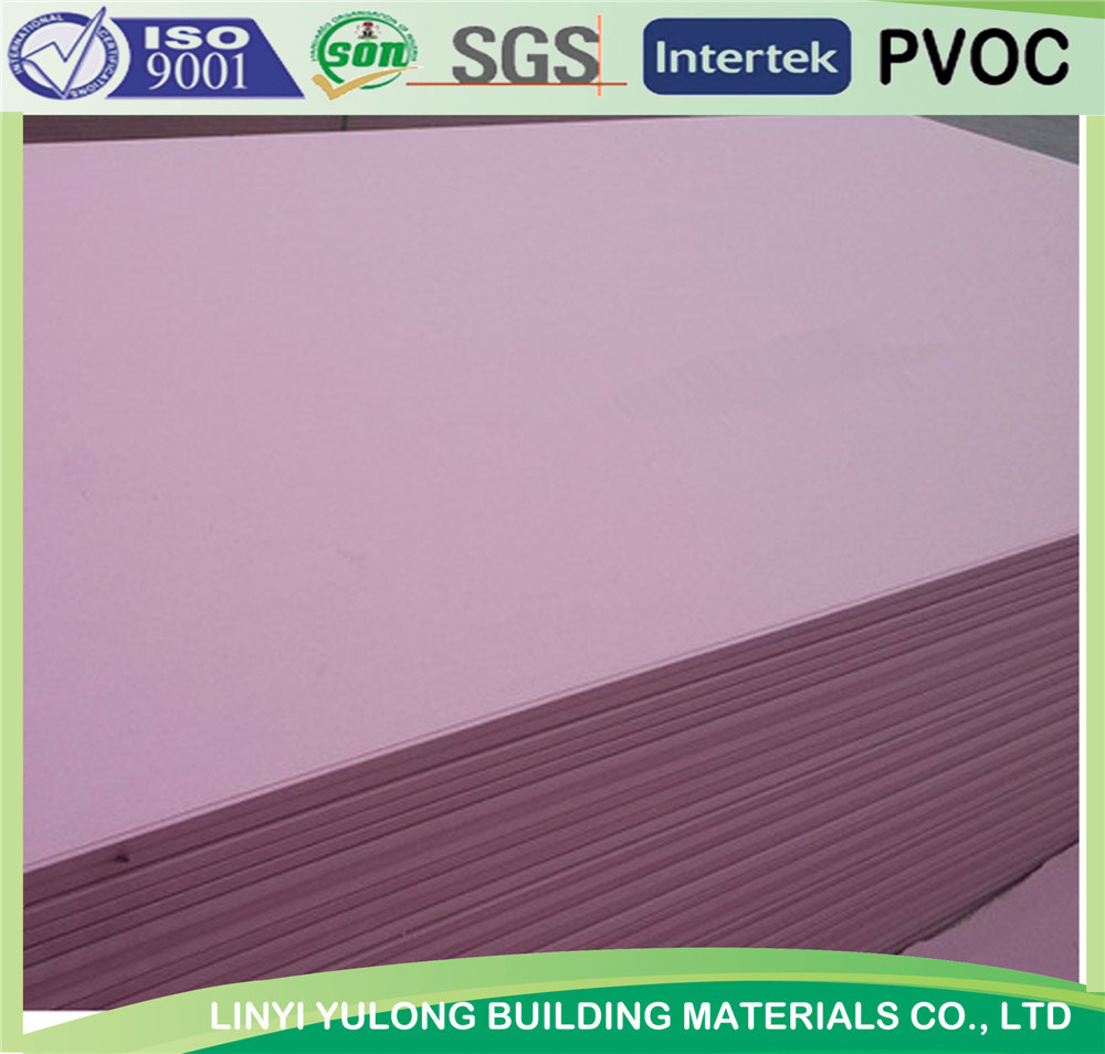 Fire Proof Gypsum Board/Plaster Board/Drywll Board with Competitive Price